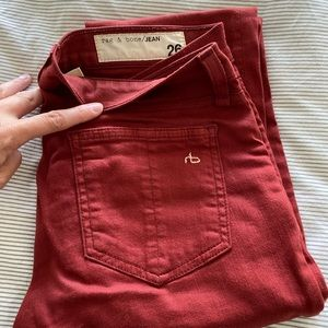 Rag and Bone jeans. Size 26